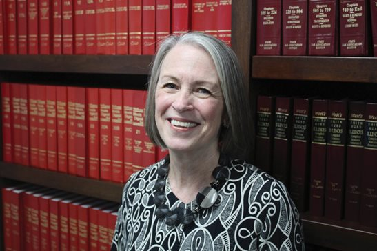 Mary Anne Mason, a justice on the 1st District Appellate Court bench since 2013, will retire from the judiciary next week. She's pictured in her chambers on Tuesday.