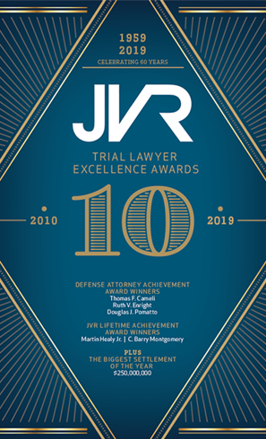JVR Trial Lawyer Excellence Awards